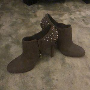 Jessica Simpson spiked booties